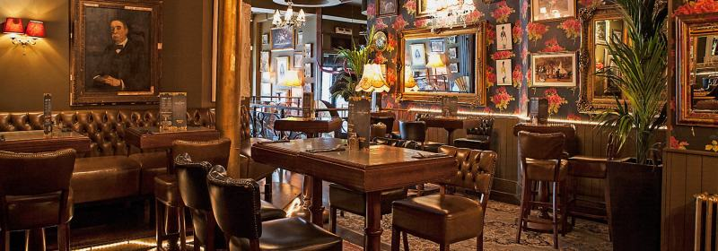 Grand union Farringdon best party bars london