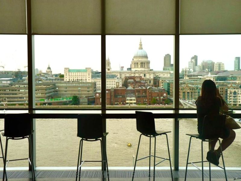 Tate Modern Bar best bars views london